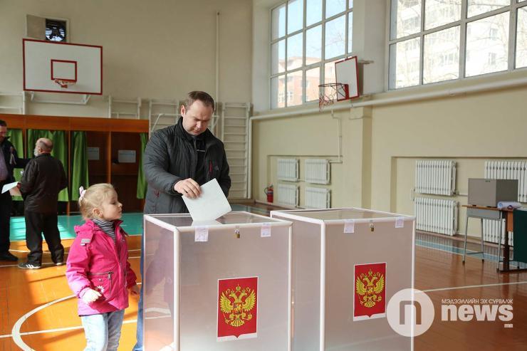 Путин Монголд 82 хувийн ялалт байгуулжээ