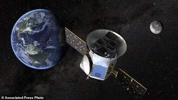 """НАСА сансарт """"Тесс"""" хиймэл дагуул илгээжээ"""