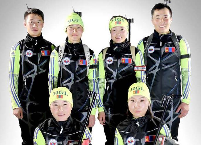 Монголын биатлончид олимпийн эрхийн тэмцээнд явлаа