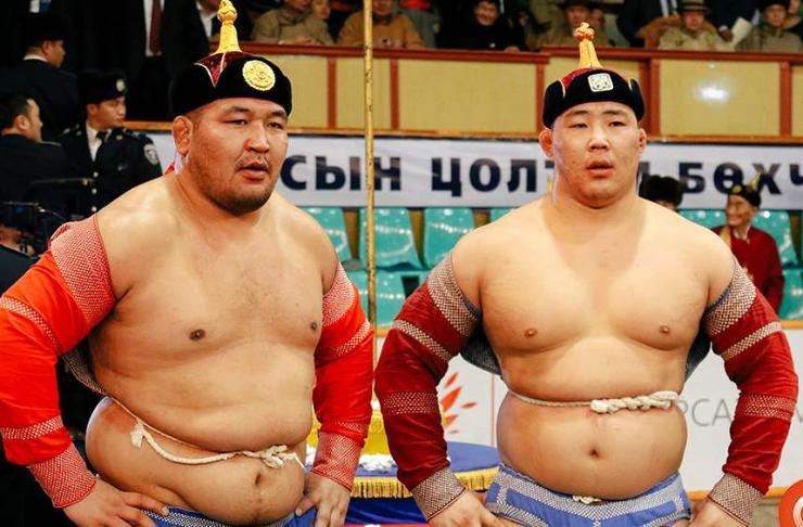 Монгол цэргийн өдөрт зориулсан барилдаанд О.Хангай түрүүллээ