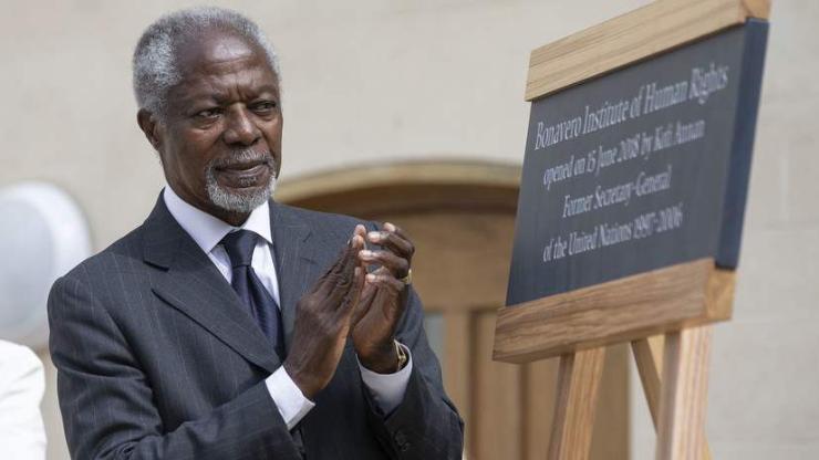 НҮБ-ын Ерөнхий нарийн бичгийн дарга асан Кофи Аннан 80 насандаа таалал төгслөө