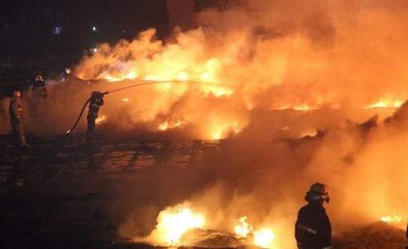 Ерөөд гарсан түймрийг унтраахаар ажиллаж байна
